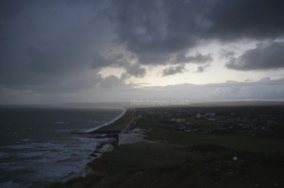 Storm over Seaford