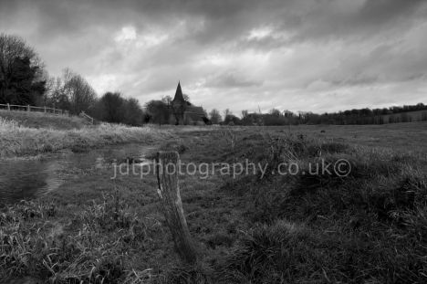 old church bw1424B